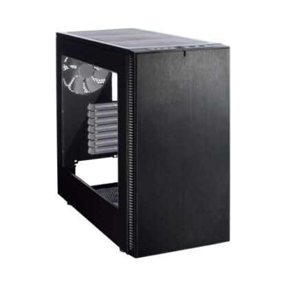 Fractal Design Define S (Black Window) Quiet Gaming Case w/ Clear Window