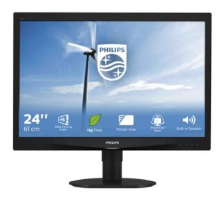 Philips S Line LCD monitor with SmartImage 240S4QYMB/00
