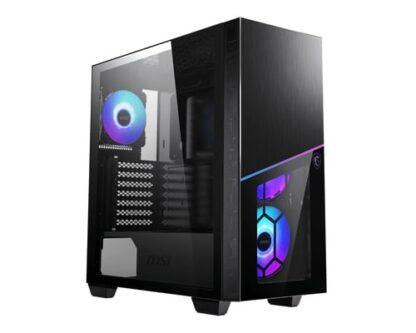 MSI MPG SEKIRA 100R 'S100R' Mid Tower Gaming Computer Case 'Black