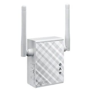 Asus (RP-N12) 300Mbps Wall-Plug WiFi Range Extender/Access Point/Media Bridge